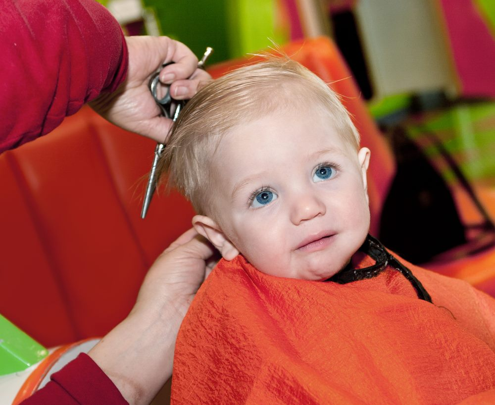 All About Your Babys First Hair Cut