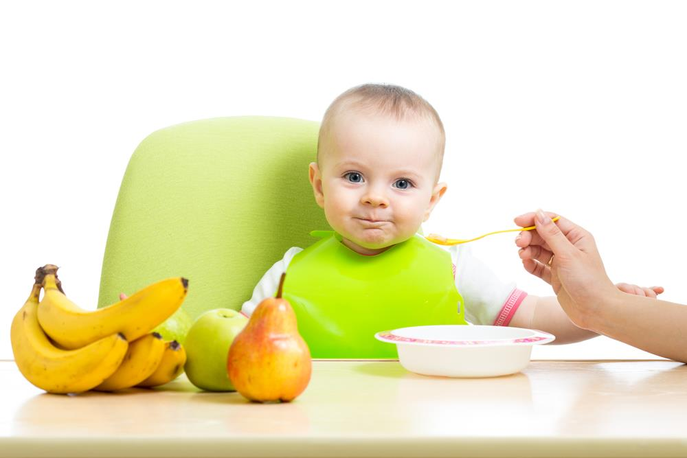 Healthy and balanced diet for infants