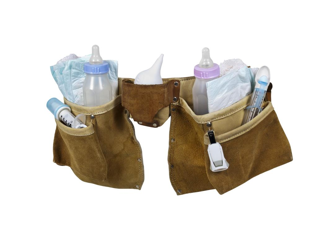 How to keep your baby diaper bag light