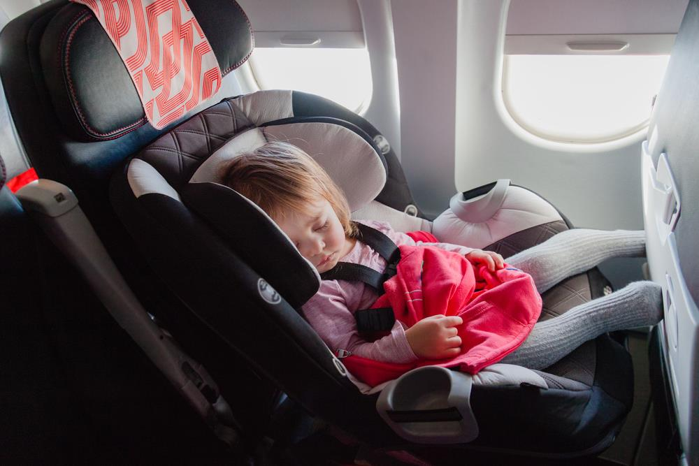 Car Seat On Airplane: How Old Does A Baby Have To Be To Fly?